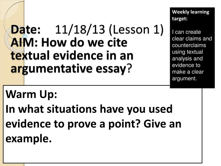 essay evidence Free essay: the purpose of this essay is to critically analyse and summarise three selected papers which focus on a structured question, linked to a relevant.