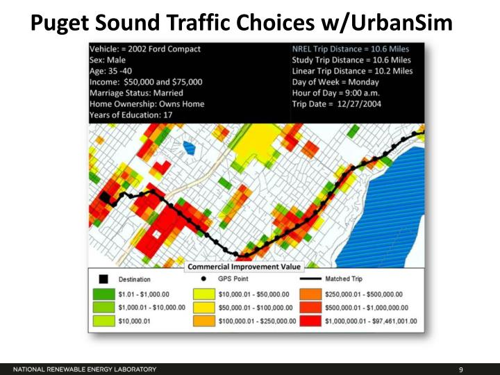 Puget Sound Traffic Choices w/