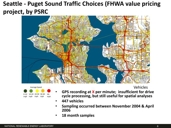 Seattle - Puget Sound Traffic Choices (FHWA value pricing project, by PSRC