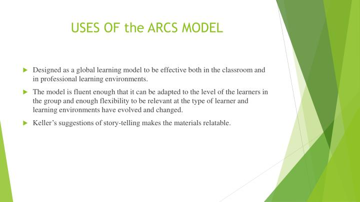 USES OF the ARCS MODEL