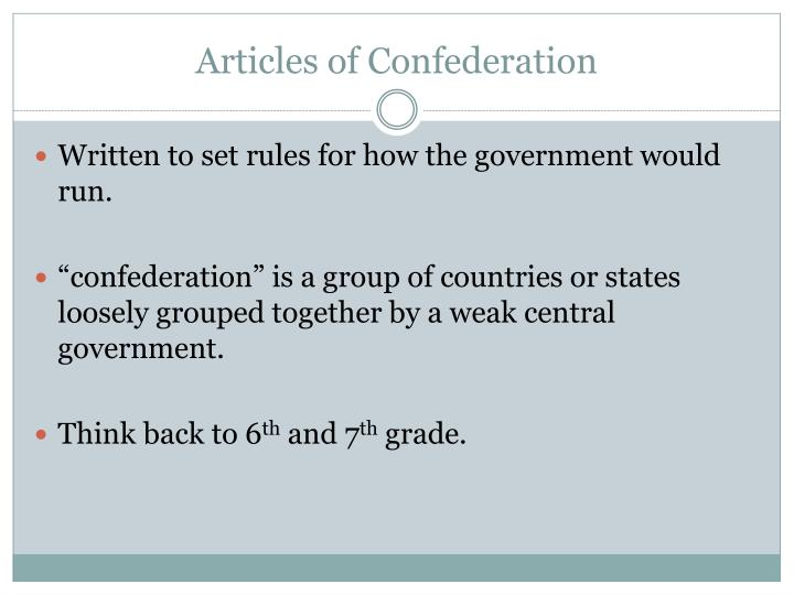 weaknesses of articles of confederation essay On november 15, 1777, the first constitution of the united states of america was  written and created referred to as the articles of.