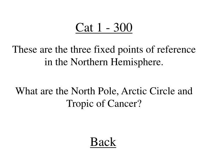 Cat 1 - 300
