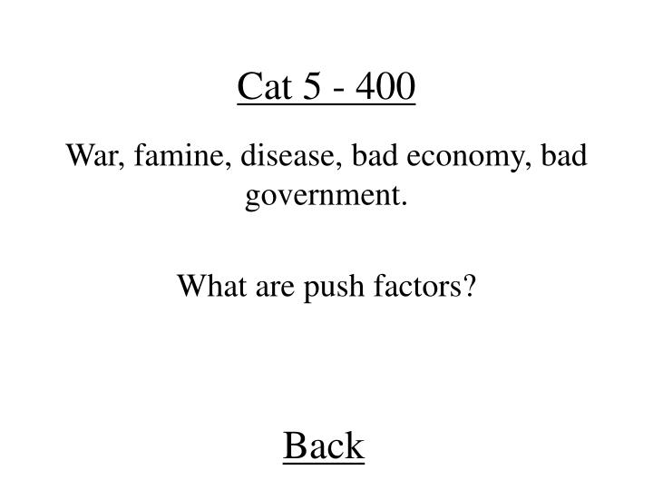 Cat 5 - 400