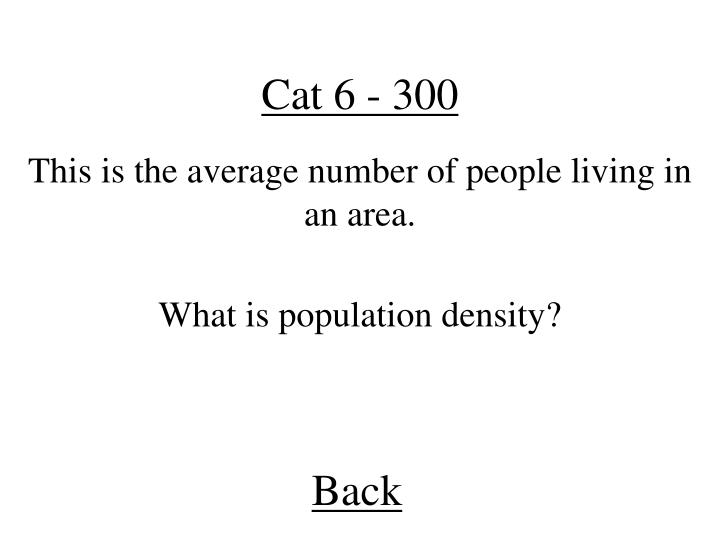 Cat 6 - 300