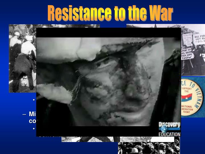 Resistance to the War
