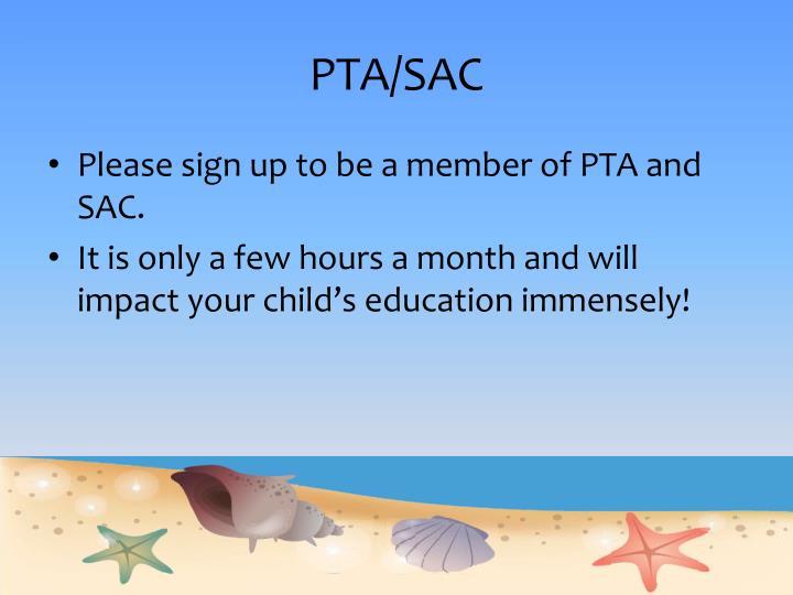 PTA/SAC