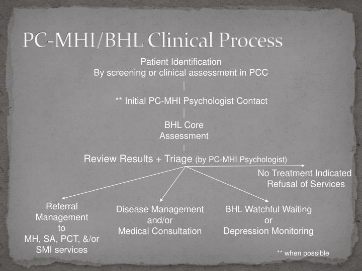 PC-MHI/BHL