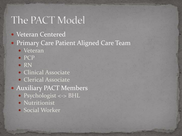 The PACT Model