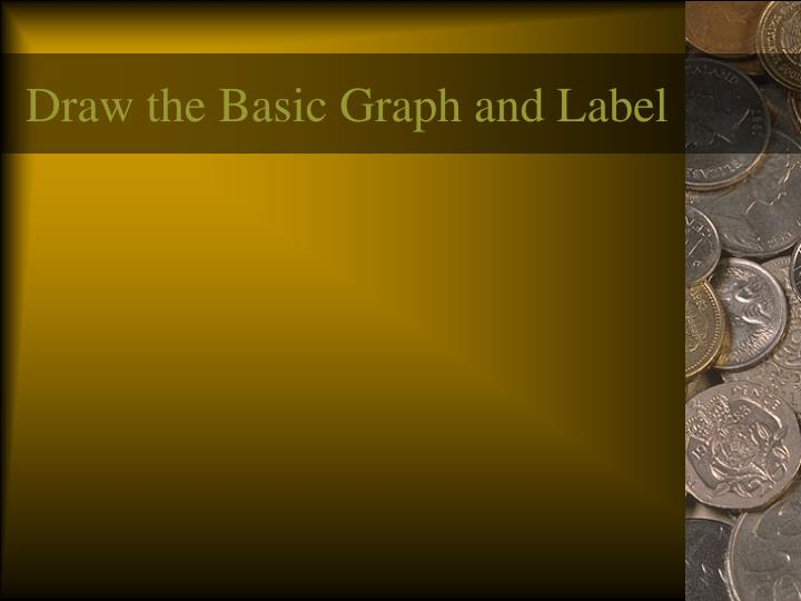 Draw the Basic Graph and Label