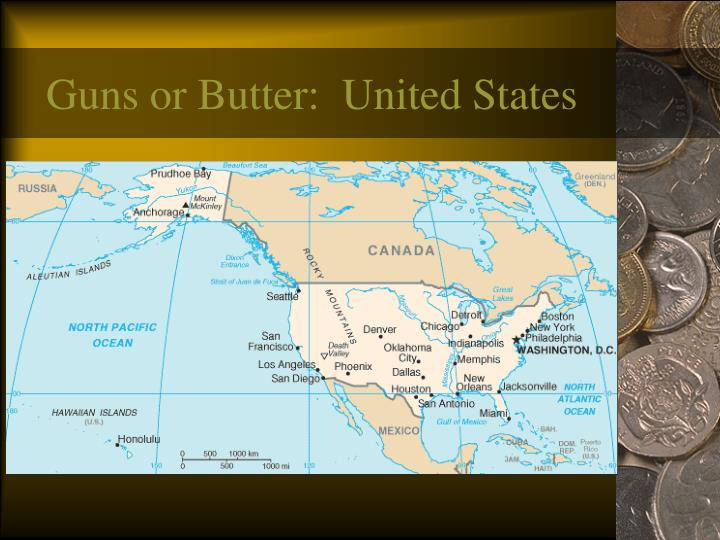 Guns or Butter:  United States