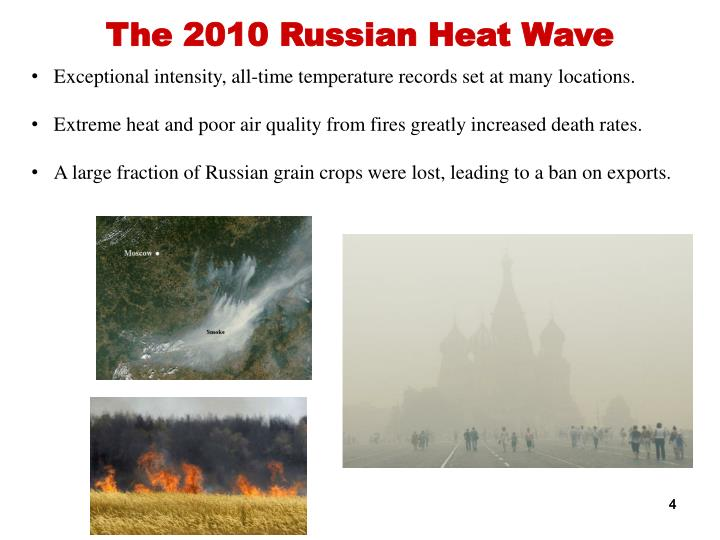 The 2010 Russian Heat Wave