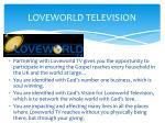 loveworld television