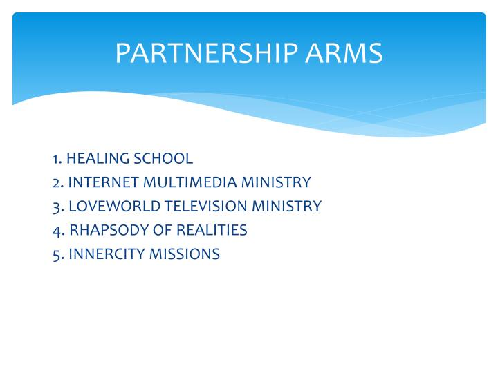 Partnership arms