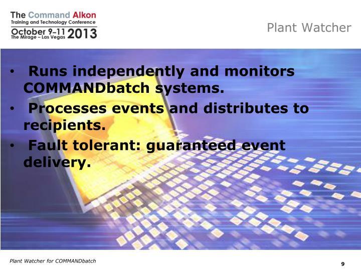 Plant Watcher
