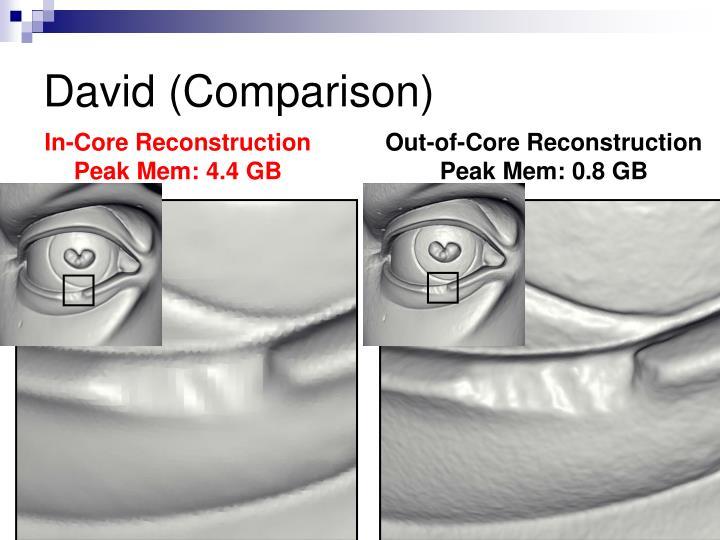 David (Comparison)