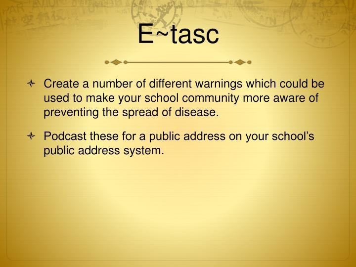E~tasc