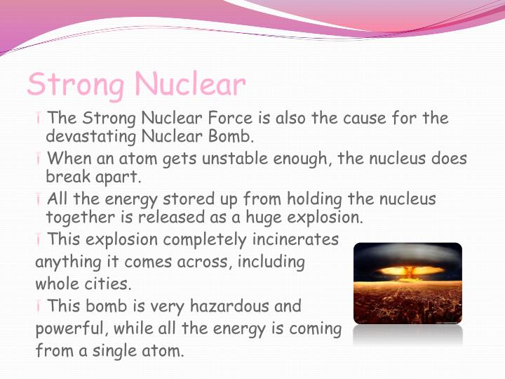 Strong Nuclear