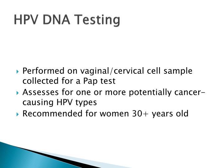HPV DNA Testing