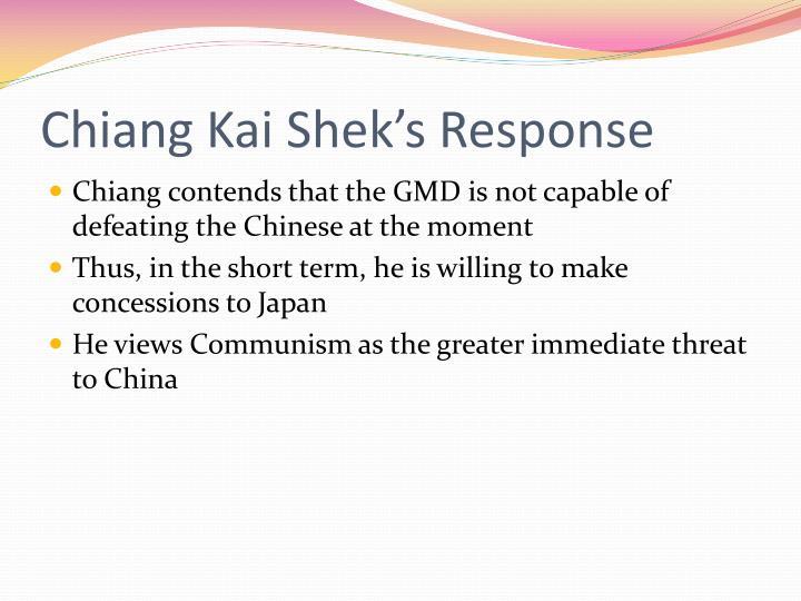 Chiang Kai
