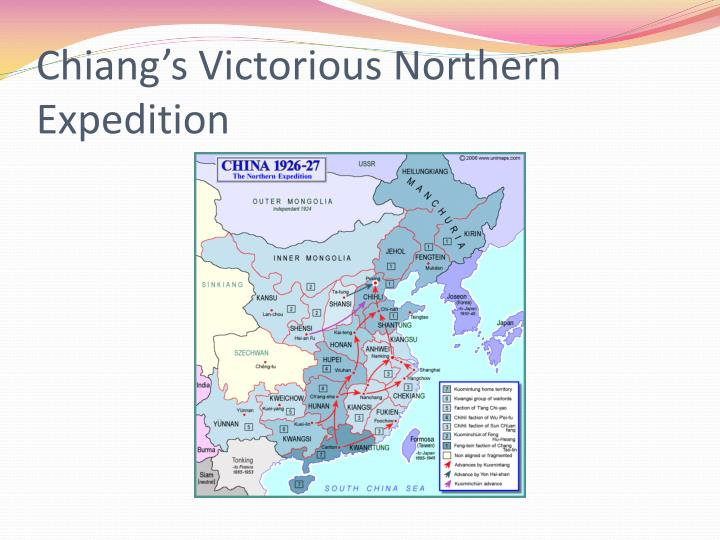 Chiang's Victorious Northern Expedition
