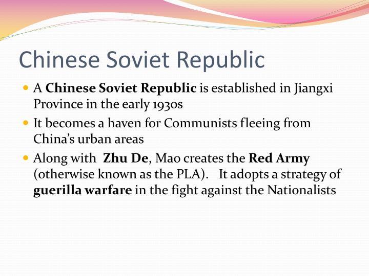 Chinese Soviet Republic
