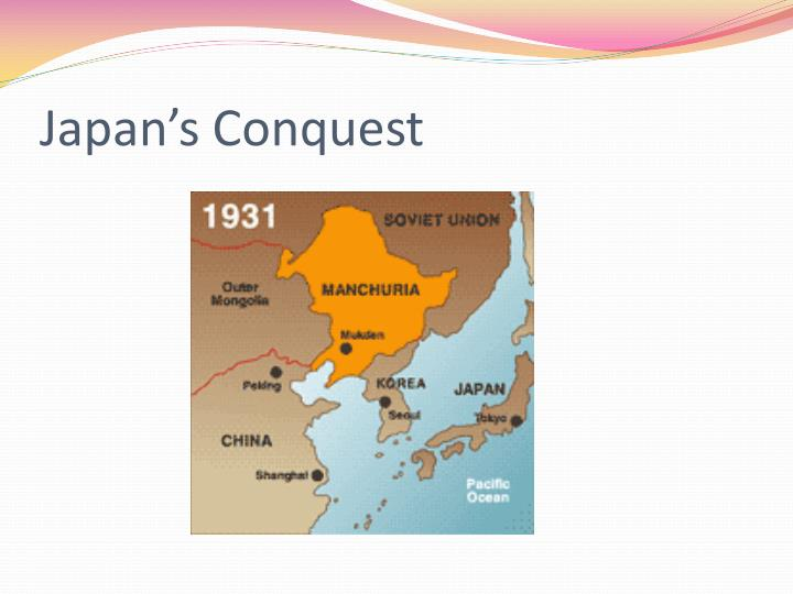 Japan's Conquest