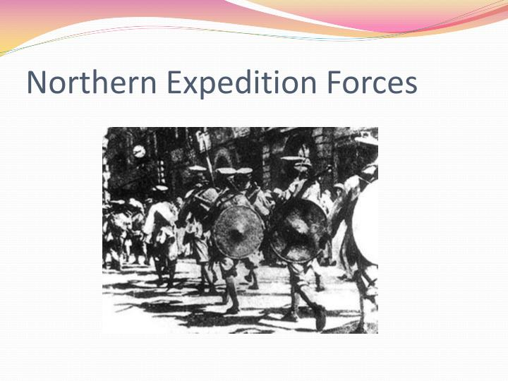 Northern Expedition Forces
