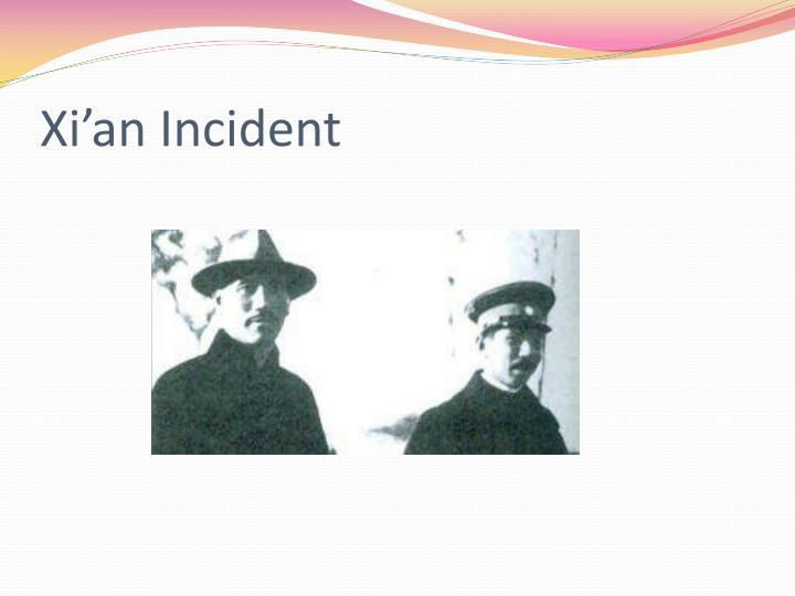 Xi'an Incident