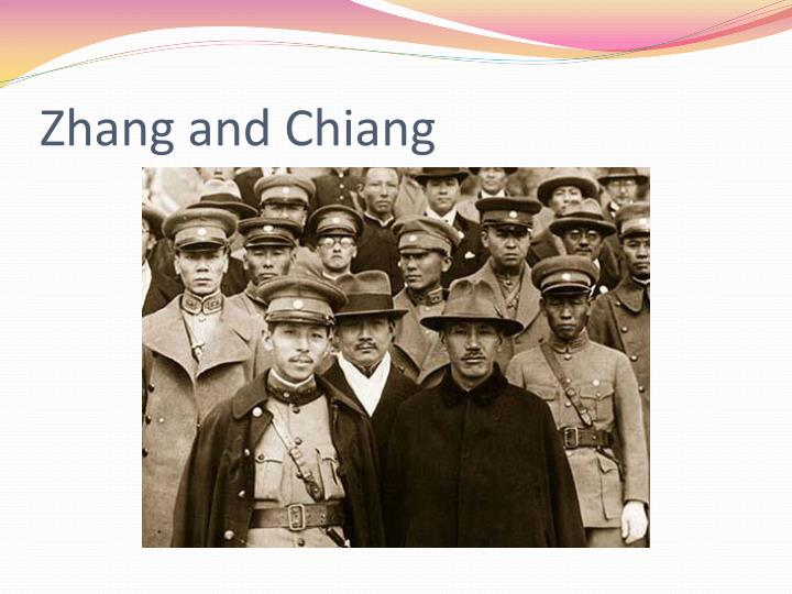 Zhang and Chiang