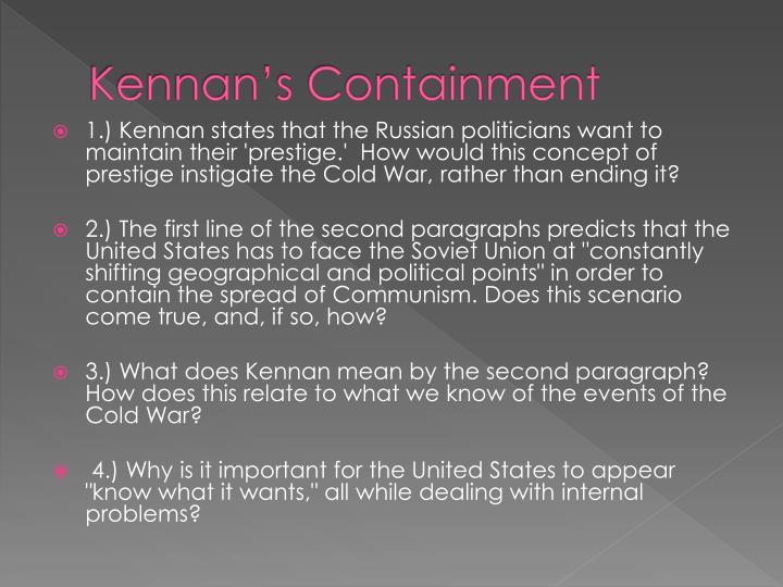 Kennan's Containment