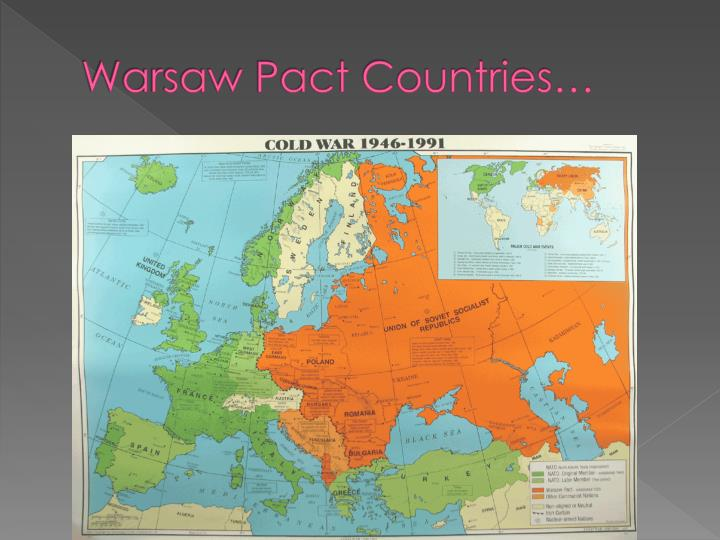 Warsaw Pact Countries…