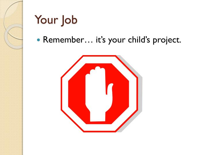 Your Job