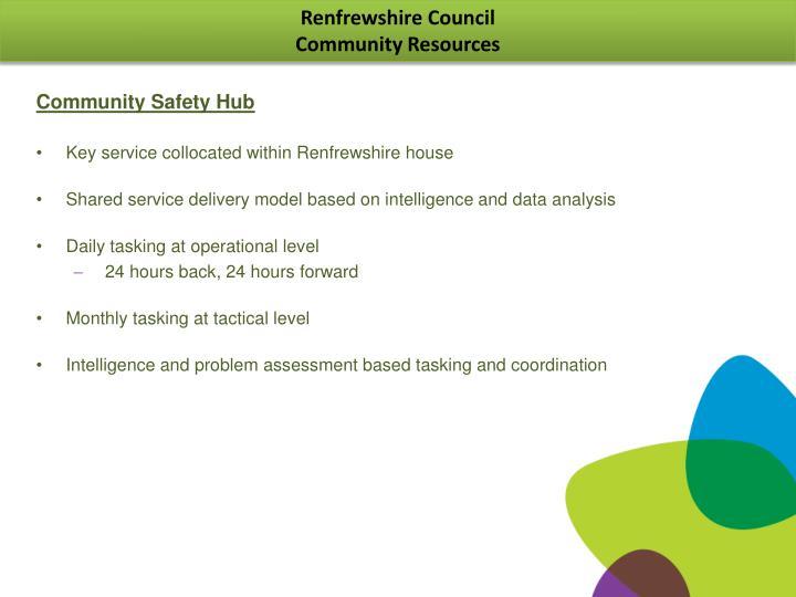 Community Safety Hub