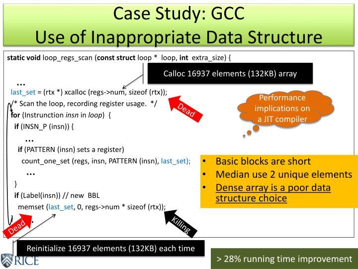 Case Study: GCC