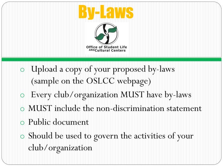 By-Laws