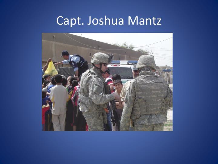 Capt. Joshua