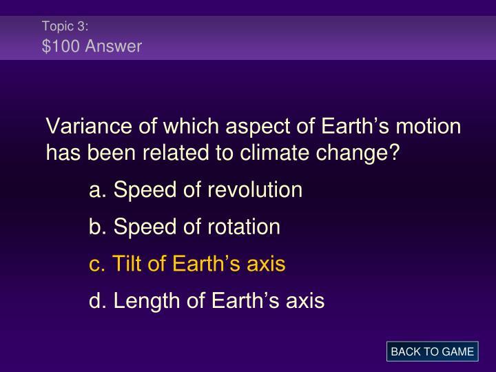 Topic 3: