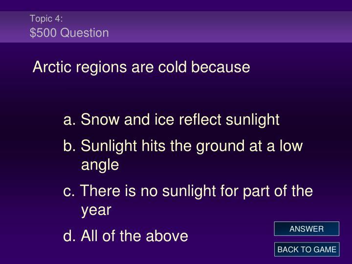 Topic 4: