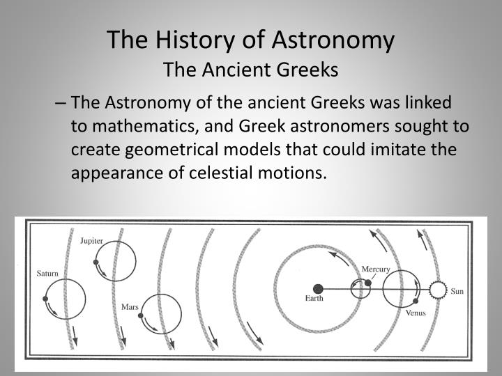 Ancient Astronomy, Science And The Ancient Greeks