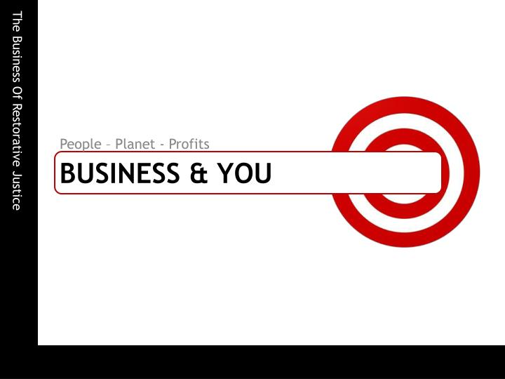 People – Planet - Profits