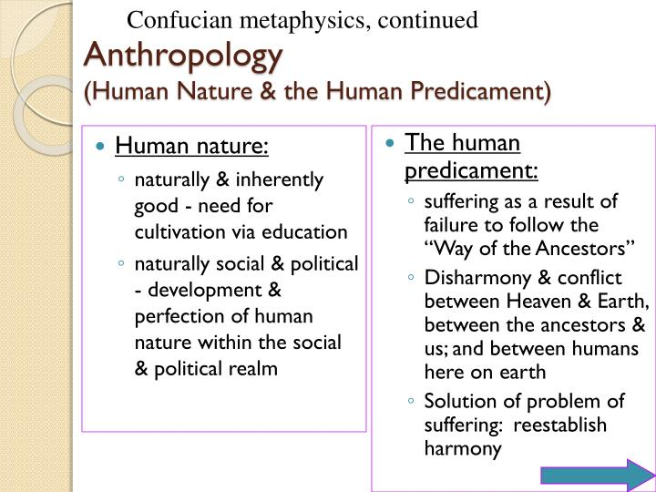 Human nature: