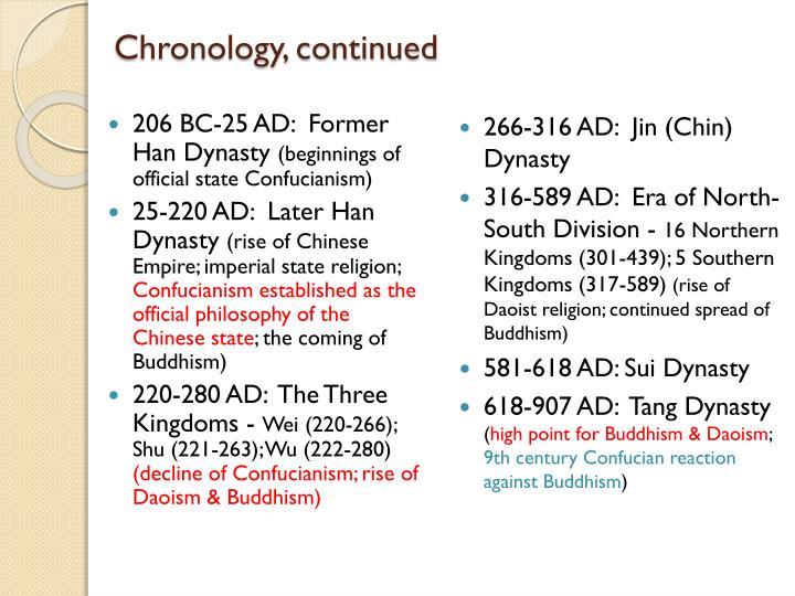 206 BC-25 AD:  Former Han Dynasty