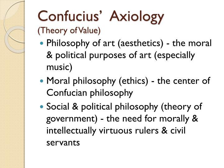 Confucius'  Axiology