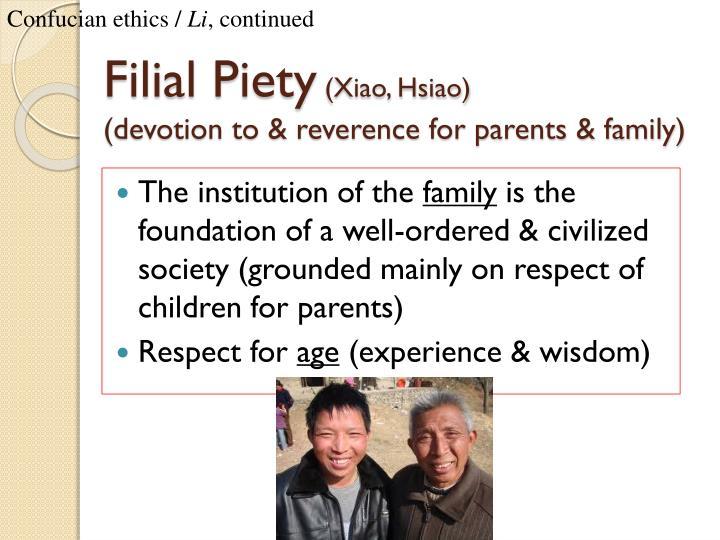 Confucian ethics /