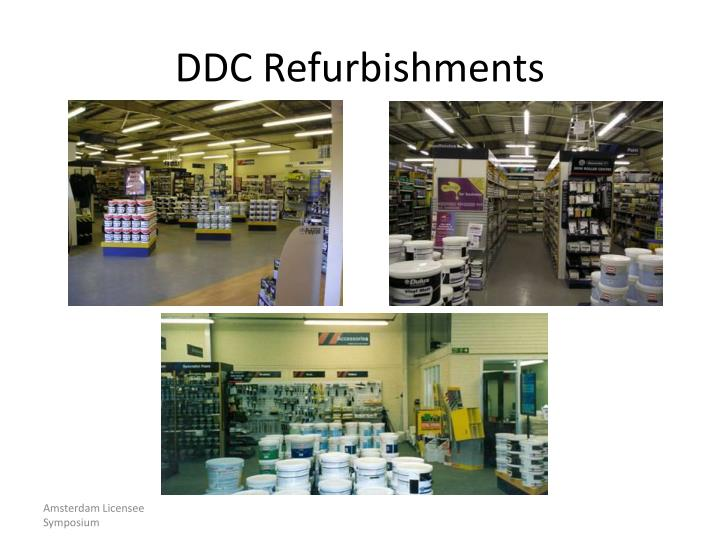 DDC Refurbishments