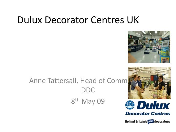 Dulux decorator centres uk