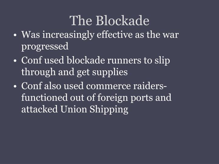 The Blockade