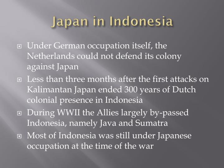 Japan in indonesia1