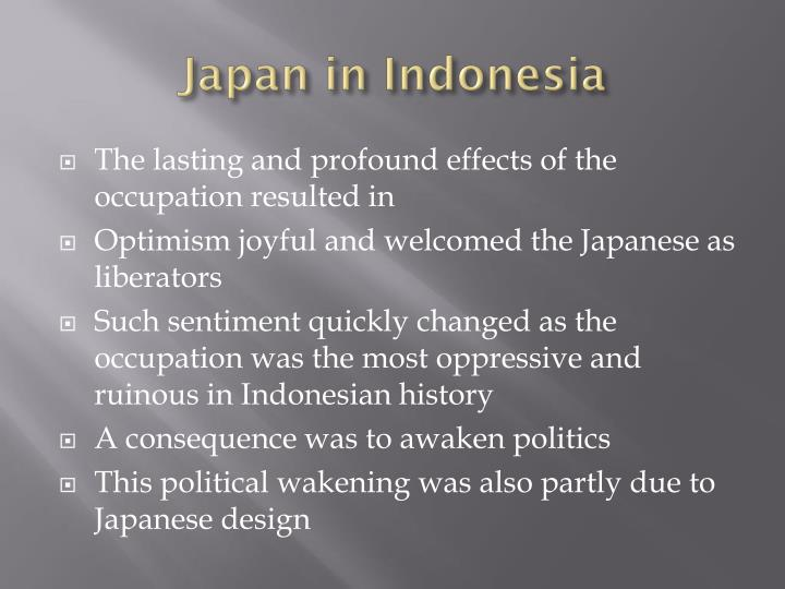 Japan in Indonesia