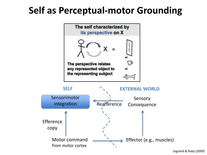 Self as Perceptual-motor Grounding